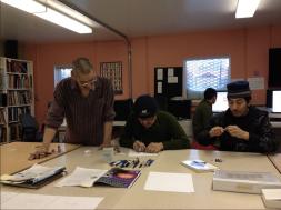The Frozen Museum - Curators: Simon, Juna, Gary, Peter