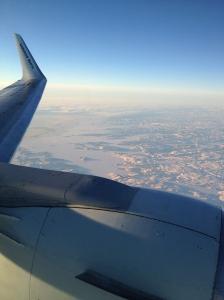En route to Iqaluit
