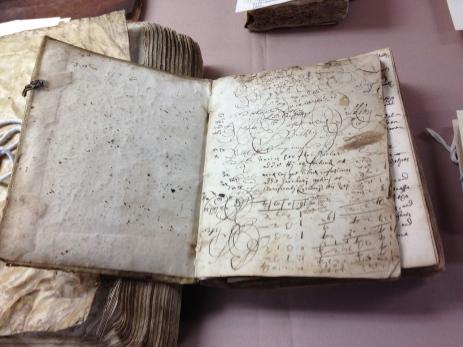 Gershom Bulkeley alchemical notebook